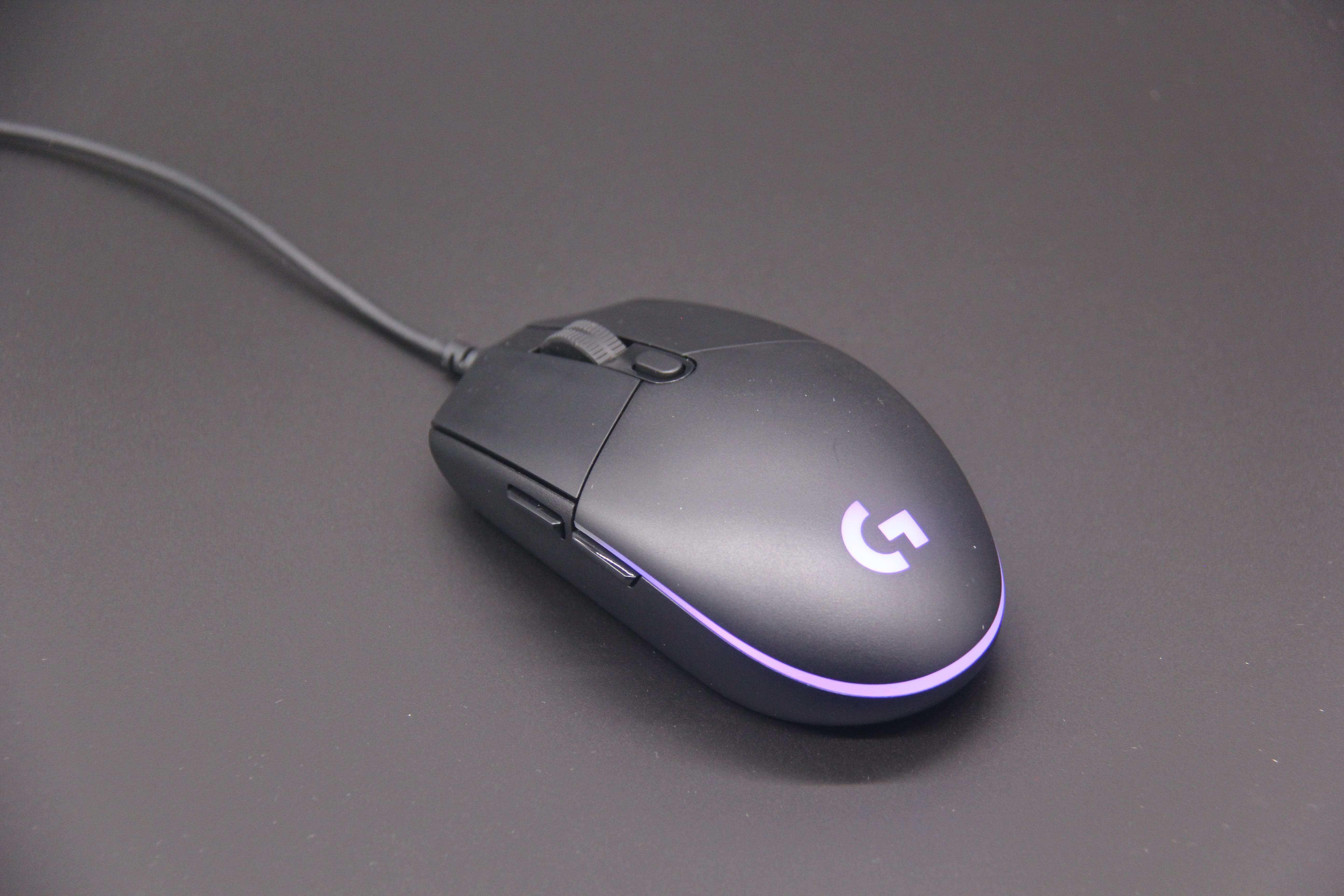 开箱|罗技(G)G102 入门级游戏鼠标-胡自自博客