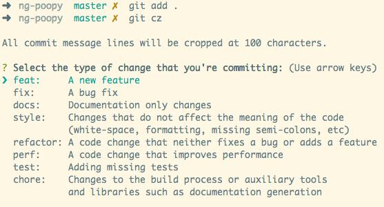 规范Git代码提交信息-胡自自博客